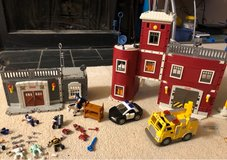 Fire Station and Police Station (Fisher Price) in Aurora, Illinois