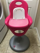 Boon Flair Pedestal Highchair with Pneumatic Lift ~ Pink in Spring, Texas