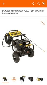 Dewalt Pressure Washer 4200 PSI in Spring, Texas