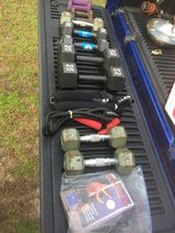 Dumb bells ankle weights and more in Camp Lejeune, North Carolina
