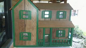 Wooden doll house in Baytown, Texas