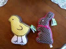 Stuffed Bunny and Chick - NEW w/Tags  - Great for Easter or Spring in Glendale Heights, Illinois