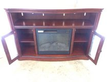 Fireplace TV Stand in Byron, Georgia