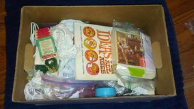 Box of crafts in Baytown, Texas