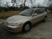 1 owner Honda Accord EX in Spring, Texas