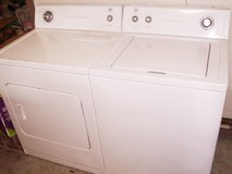 Washer and Dryer  by Whirlpool Set with 3 months Guarantee in Macon, Georgia