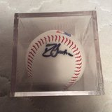 Autograph: Braves David Justice in Warner Robins, Georgia