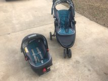 car seat and stroller in Fort Polk, Louisiana