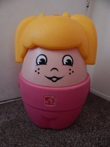 STEP 2 TOY BOX / HAMPER LITTLE PEOPLE FISHER PRICE VINTAGE VHTF RARE in Fort Irwin, California