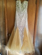 Beautiful gown that can be worn to prom, a ball, or some formal  event. in Byron, Georgia