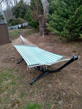 13' hammock with steel frame stand in Quantico, Virginia