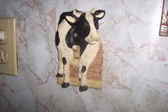 Single cow light switch in Kingwood, Texas