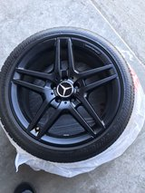 oem Mercedes 18 inch rims and tires in Chicago, Illinois
