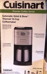 Cuisinart Grind and Brew coffee maker (used once) in Chicago, Illinois