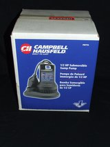 Sump Pump Submersible 1/2 HP NEW Model PBT12 by Campbell Hausfeld in Lockport, Illinois