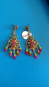 Graziano multi color post earrings in Chicago, Illinois