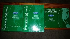 Ford Ranger shop manuals in Travis AFB, California