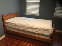 Pottery barn twin trundle bed with boxspring in Spring, Texas