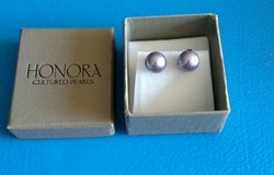 Honora Cultured Pearl Earrings .925 post in Chicago, Illinois