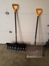 Snow shovels in Quantico, Virginia