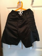 Goalie shorts (adult size small) in Oswego, Illinois