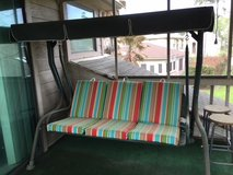 Porch Swing & Chairs in Kingwood, Texas