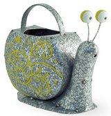 "Adorable Metal Snelly Snail watering can Size: 10""l x 4 1/2""w x 8 1/2""h Brand New in Camp Lejeune, North Carolina"