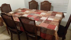 Ethan Allen dinning table with 6 chairs in Kingwood, Texas