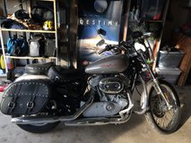 Only 505 Miles 2007 Harley Sportster 883 Custom in Fort Knox, Kentucky