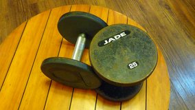 Jade...... Pair Dumbbells .... in Okinawa, Japan