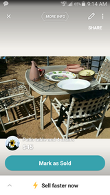 Patio Table with 4 chairs in 29 Palms, California