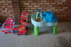 Sand and Water play table in Lakenheath, UK