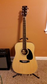 Full sized acoustic guitar w/case in Richmond, Virginia