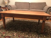 solid wood coffee table in Macon, Georgia