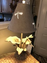 dragonfly lamp in Beaufort, South Carolina
