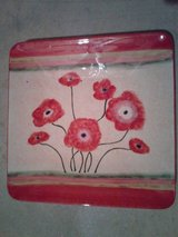 Flower Serving Platter in Oswego, Illinois