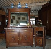 beautiful dresser with matching mirror and night stand in Spangdahlem, Germany