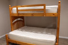 Twin / Full Bunk Bed (Including Mattresses) in Spring, Texas