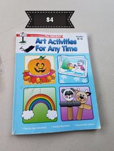 Art activities for any time book in Travis AFB, California