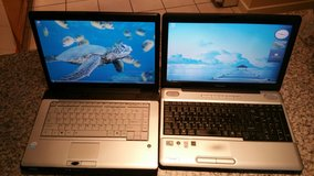 2 Toshiba Laptops in Lakenheath, UK