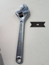 Craftsman adjustable wrench in Travis AFB, California