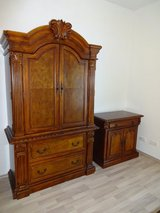 """Just Reduced"" Like New 3 Piece Vintage Armoire Set in Ramstein, Germany"