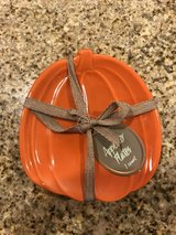 New!! Pumpkin Appetizer Plates in Joliet, Illinois