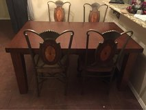 table with four chairs in Lawton, Oklahoma