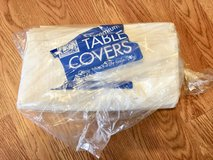 White 3 ply tissue Premium Table covers in Glendale Heights, Illinois