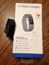 Fitbit Charge 2 w/additional Silver Band in Glendale Heights, Illinois