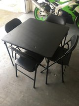 Padded Table and Four Chairs in Lakenheath, UK