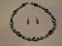 Necklace and earrings in Plainfield, Illinois