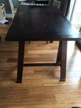 Solid wood table/ desk in Elgin, Illinois