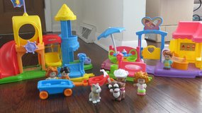 Fischer Price Ice Cream and Park Playsets with Accessories in Glendale Heights, Illinois